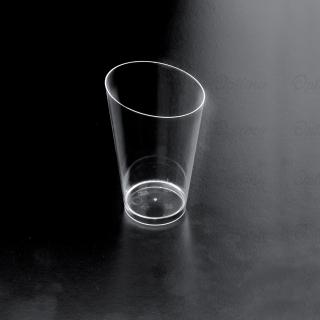 Bicchierino Conico Alto trasparente diametro cm 5 ml 75