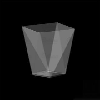Coppetta Diamond trasparente cc 100