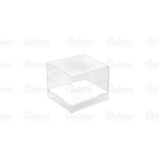Coppetta Cube trasparente cc 60