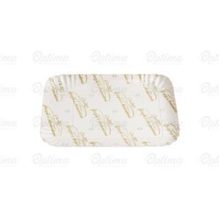 Vassoio di cartone politenato jolly misura 3 cm 23,7x15,7