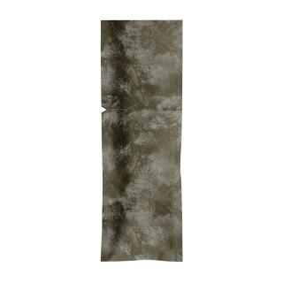 Sacchetto Portaposate cm 8,5x25  Nero sigillabile con adesivo con Tovagliolo Bianco
