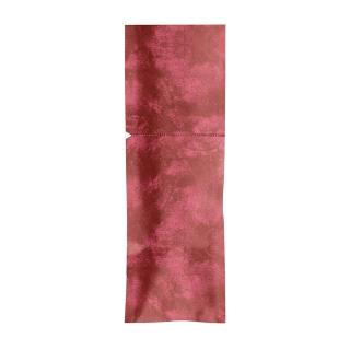 Sacchetto Portaposate cm 8,5x25  Bordeaux sigillabile con adesivo con Tovagliolo Bianco