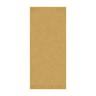 Busta porta posate di carta paglia con tovagliolo cm 38x38