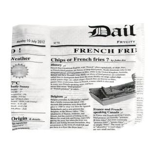 Busta stampa giornale aperta su 2 lati cm 17x17