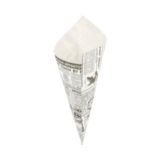 Cono di carta pergamina antigrasso Times lati cm 29,5x21 gr 250