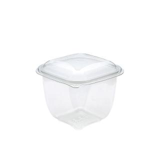 Vaschetta trasparente crudipack cc 750 cm 12,5x12,5x9,5