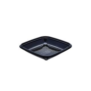 Vaschetta nera crudipack cc 370 cm 16x16x3