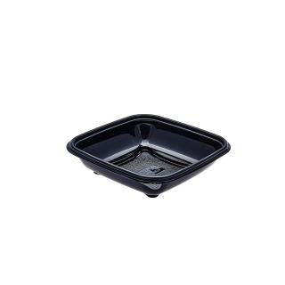 Vaschetta nera crudipack cc 500 cm 16x16x3,9