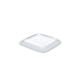 Coperchio trasparente cm 16x16x1,7 per vaschetta crudipack cc 370/500