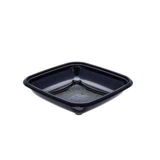 Vaschetta nera crudipack cc 750 cm 19x19x4