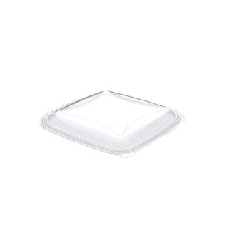 Coperchio trasparente vaschetta Crudipack ml 1000 cm 19x19x1,7