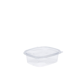 Vaschetta in OPS ovale con coperchio cm 14x11x4 cc 250