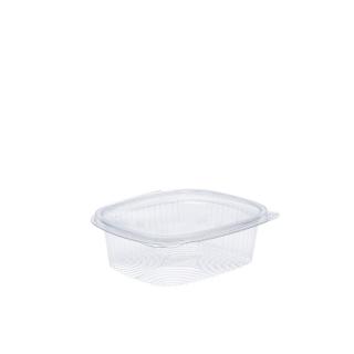 Vaschetta in OPS ovale con coperchio cm 15,6X12,4X4,5 cc 375