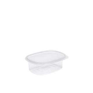 Vaschetta in OPS ovali con coperchio cm 13,5x10,3x3,8 cc 250