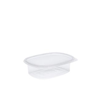 Vaschetta in OPS ovali con coperchio cm15,1x11,5x3,8 cc 375