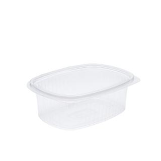 Vaschetta in OPS ovali con coperchio cm19,5x14,9x6,1 cc 1000