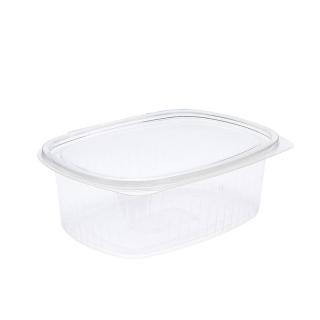 Vaschetta in OPS ovali con coperchio cm 22,3x17x7,6 cc 1500