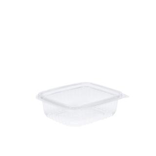 Vaschetta in OPS rettangolare con coperchio cc 375 cm 12x10x3,5