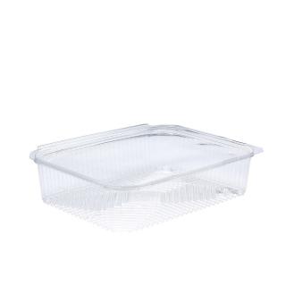 Vaschetta in OPS rettangolare con coperchio cm 20,7x15,2x4,5