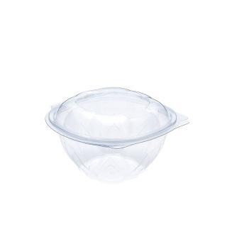 Vaschetta in ops fiore con coperchio cc 1000 cm15,1x15,1x9,6