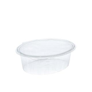 Vaschetta in Pet con coperchio Elipack cm 20,1x16,5x7 cc1000