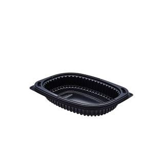 Vaschetta Cookipack nera cm 19x14x3,2 cc 400