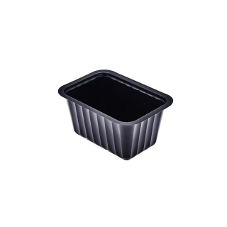 Vaschetta alpha nera cc 480 cm 13,7x9,6x6,6