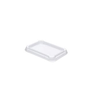 Coperchio traslucido cm 14,8 x10,6x1,2 per vascetta alpha  cc 375/500