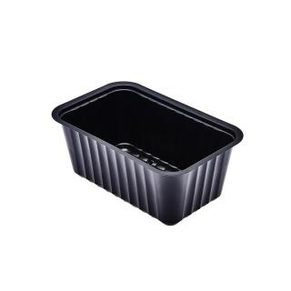 Vaschetta alpha nera cc 910 cm 17,7x11,3x7,1