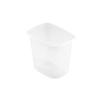 Vaschetta Delipack traslucida cm 10,8x8,2x10 ml 500 ct da 1000 pz