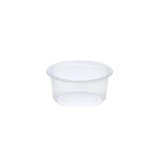 Contenitore  tondo traslucido ml 350 cm 11,5x11,5x5,6