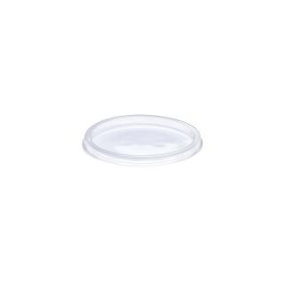 Coperchio basso traslucido cm 12,1x12,1x0,8 per ciotola tonda cc 350/500/750