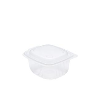 Vaschetta traslucida Ondipack cm 14,2x12,3x6,8  in pp con coperchio ondipack  cc 500