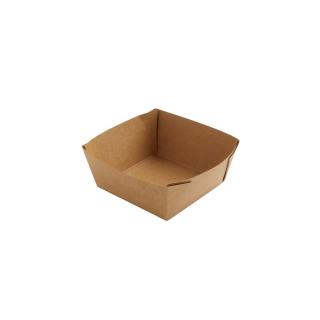 Scatola avana in cartonciono politenato cm 11,3x11,3x5