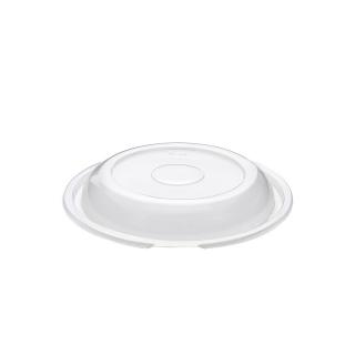 Coperchio traslucido in Polipropilene cm 22x22x2,7 per piatto nero