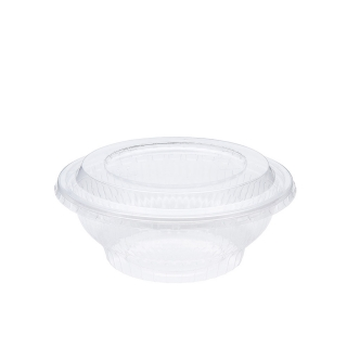 Insalatiera trasparente cc 1000 cm 18,9x18,9x6,8