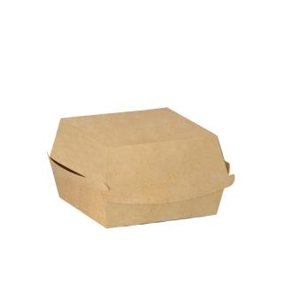 Porta Panino in cartoncino avana cm 10x10x7