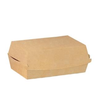 Porta Panino in cartoncino avana cm 15x10x7