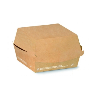 Porta Panino in cartoncino avana Biodegradabile e Compostabile cm 16X15,5X9