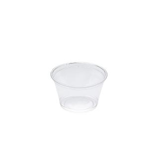 Contenitore per salse in Pet cm 7,4x7,4x4,4 cc 130
