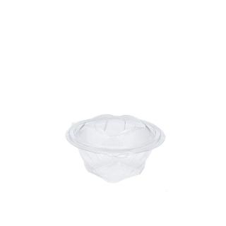 Vaschetta con coperchio a strappo in pet sekipack cm 12x12x6,8 ml 250