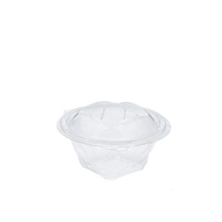 Vaschetta con coperchio a strappo in pet sekipack cm Ø 13,7 ml 370