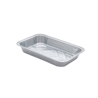 Contenitore in alluminio TR23 cm 20,8x14,2x3,2 cc 675 (2 porzioni)