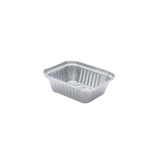 Contenitore in alluminio cm 14,6x12,1x4 (1 porzione)