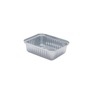 Contenitore in alluminio cm 16,2x13,2x4,2 ( 1 porzione)
