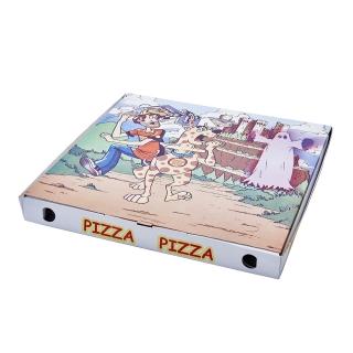 Scatola pizza con stampa generica cm 50x50x5
