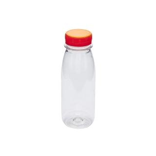 Bottigliette per succhi di frutta in Pet cc 330 diametro base cm 5,9x h 16