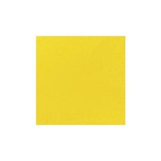 Tovagliolo 24x24 2 veli giallo