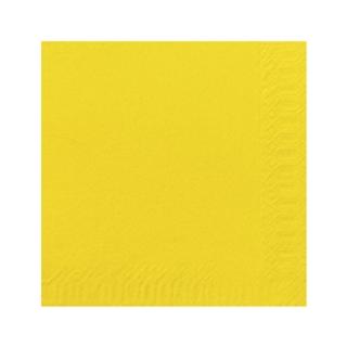 Tovagliolo 33x33 2 veli giallo