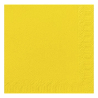 Tovagliolo 40x40 2 veli giallo